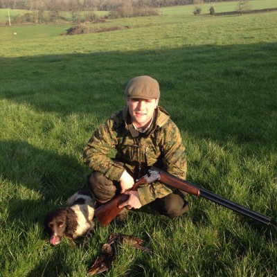 International rugby players have joined Beggarbush Gundogs shoot and training days
